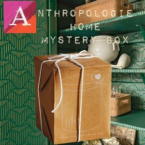 Anthropologie Home Mystery Box